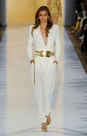 white and gold jumpsuit white jumpsuit gold belt white wheretoget