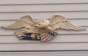 abrasive blasting aluminum eagles