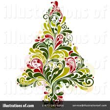 christmas tree clipart 231757 illustration by bnp design studio