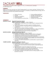 construction resume template construction resume template for microsoft word livecareer