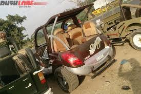 maruti jeep someone modified a maruti swift to look like nissan gt r