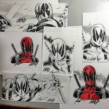 deadpool creator rob liefeld is hiding 24 sketches at comic con