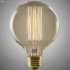 Round Fluorescent Light Fixture Best Wholesale 40w E27 Lamp Holder Round Edison Bulb Lamp Fixture