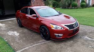 nissan altima 2013 tire specs rons 2013 nissan altima modified updated nismo 20s ruff racing