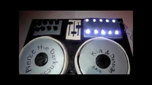 how to make a dj cake turntable u0026 soundboard music cake tutorial