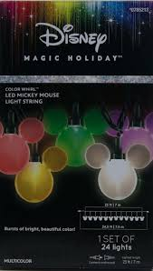 string lights replacement bulbs disney parks mickey