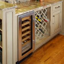 kitchen cabinet accessories traditional wine racks u0026 refrigerated