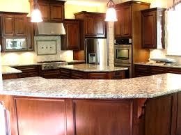 kitchen l shape counter designs with white top ideas also wood
