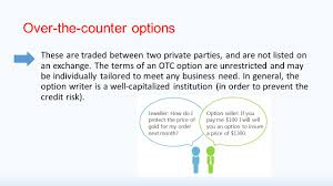 how can my business capitalize options price and trading agenda useful terminology option types