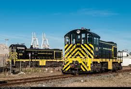 two of san francisco bay railroad s bio diesel alco s2s sit idle