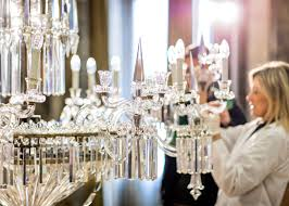 Bohemian Glass Chandelier Lasvit Restores Crystal Chandeliers In Milan U0027s Palazzo Serbelloni