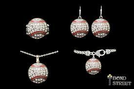 baseball jewelry wholesale baseball jewelry collection set