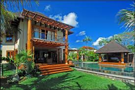 exceptionnal freehold property of 4 luxury villas mauritius