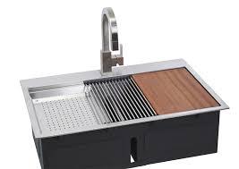 lenova ss ot d33 dual mount ledge series bowl kitchen sink