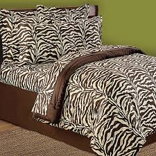 Zebra Comforter Set King Wild Life Animal Giraffe Leopard Pink Brown Zebra Animal Prints