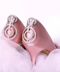 wedding shoes pink pink weddings for breast cancer awareness month s n o b b