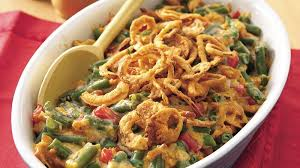 cheesy green bean casserole recipe bettycrocker