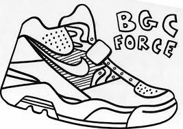 14 images of nike shoes air force coloring pages nike air force