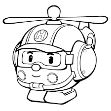 robocar poli coloring pages getcoloringpages com