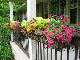 niesz vintage home and fabric porch railing planter boxes