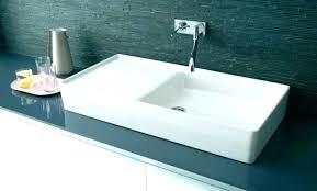 vasque cuisine vasque cuisine a poser vasque evier cuisine en x cm a poser lavabo