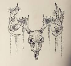 deer skull tattoos deer skull tattoos deer