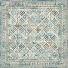 Area Rug Square Blue 275cm X 365cm Kashkuli Gabbeh Rug Area Rugs Irugs Uk
