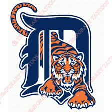 detroit tigers temp tattoos customize temporary tattoos
