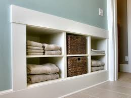 Bathroom Wall Shelving Ideas by Laundry Room Storage Ideas Diy