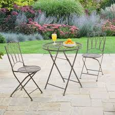 Grey Bistro Table Florence Grey 2 Seat Bistro Set Dunelm