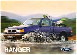 Old Ford Mud Truck - 1996 ford ranger brochure
