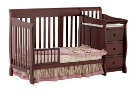 Graco Convertible Crib With Changing Table Nursery Decors Furnitures Graco Convertible Crib With Attached