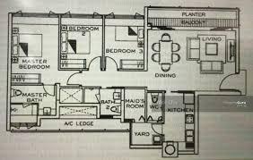 the inspira floor plan the inspira 11 arnasalam chetty road 3 bedrooms 1206 sqft