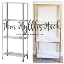 12 Ikea Hacks That Will Blow You Away Diy Ready by The Easiest Diy Hack To Glam Your 14 99 Ikea Hyllis Shelf Unit