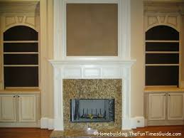 Built In Bookshelves Around Tv by 12 Best Book Shelves Around Fireplace Images On Pinterest