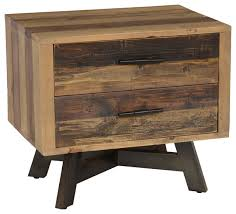 holden2 drawer nightstand by kosas home rustic nightstands and