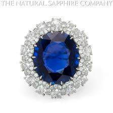 natural sapphire rings images Natural untreated burmese blue sapphire and diamond ring the jpg