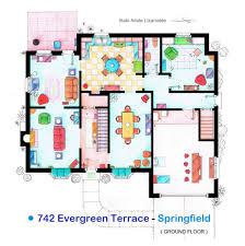 simpsons house floor plan ahscgs com