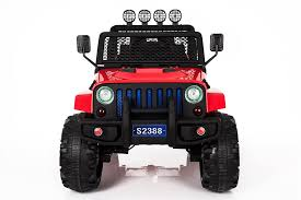 electric jeep for kids ricco s2388 4x4 kids electric ride on car with remote control led
