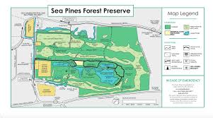 Map Of Hilton Head Island Sea Pines Preserve Great Runs