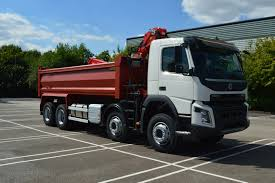 volvo trucks for sale 32 tonne volvo fmx 420 tipper grab with palfinger epsilon crane