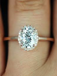 oval engagement rings gold how to make your engagement ring look bigger there are some