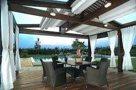 deck awning ideas open patio cover designs metal roof porch on