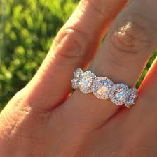 Reset Wedding Ring by Henri Daussi Micro Pave Diamond Band Fashion Pinterest