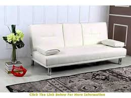 Modern Faux Leather Sofa New Sleep Design Manhattan Modern Faux Leather Sofa Bed With