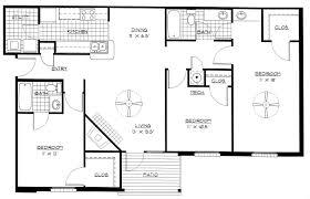 3 bedroom home plans 3 bedroom apartment floor plans home