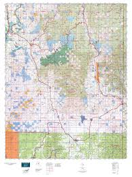 Washington State Topographic Map by Wa Gmu 117 49 Degrees North Map Mytopo