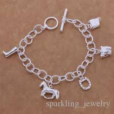 personalized picture charms personalized charm bracelets zinc alloy warrior silver