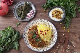 cuisine iranienne la cuisine iranienne est un mélange de toutes les cultures