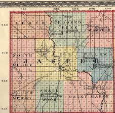 Indiana Illinois Map by Jasper County Illinois Maps And Gazetteers